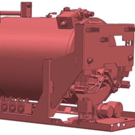 Steam/water boiler